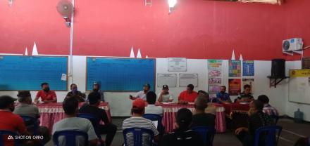 Rapat Koordinasi tentang Pembahasan Pengaduan Masyarakat dan Verifikasi Data Calon Penerima BLT Dana