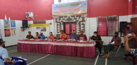 Rapat Koordinasi Validasi,  Finalisasi,  dan Penyepakatan Bersama Calon Penerima BLT Dana Desa