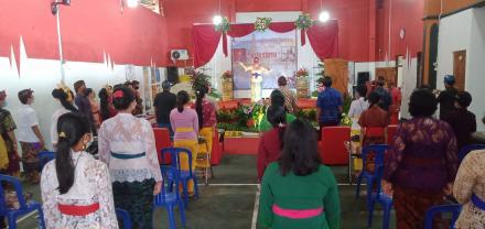 Kegiatan Lomba Pidato Bahasa Bali dan Lomba Tulis aksara Bali