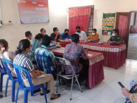 Sesuai dengan surat dari pemerintah Pusat terkait dengan kegiatan PAMSIMAS  Desa Sangsit