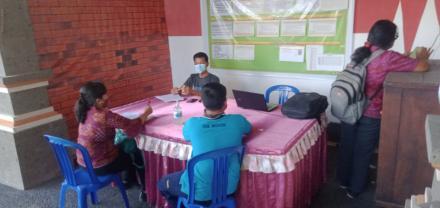 Monev/ Monitoring Dinas Sosial Provinsi Bali